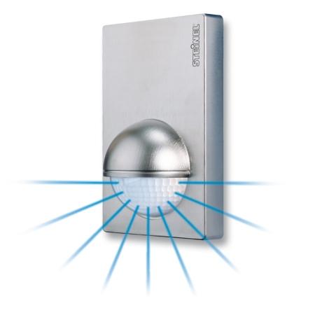 steinel infrarot bewegungsmelder is 180 2 inox pkelektronik. Black Bedroom Furniture Sets. Home Design Ideas