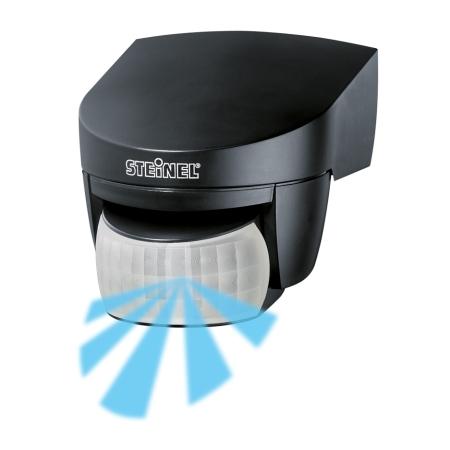 steinel infrarot bewegungsmelder is 140 2 schwarz. Black Bedroom Furniture Sets. Home Design Ideas