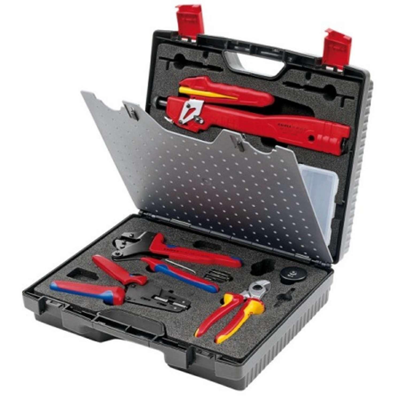 Knipex Werkzeugkoffer 97 91 02 Fur Photovoltaik Mc3 Multi Contact