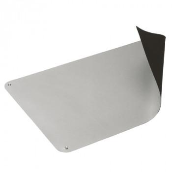 ESD Tischbelag ECOSTAT, Rolle, 1000 mm x 10 m, platingrau