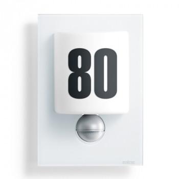Steinel LED-Sensor-Leuchte L 680 LED, Glasblende, weiß, 8 W
