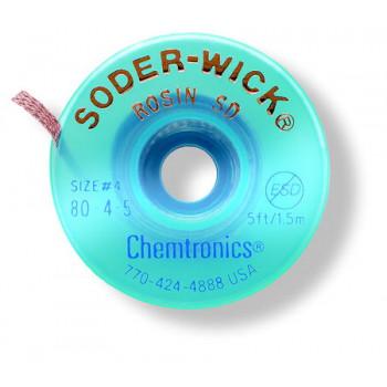 Soder-Wick® Rosin SD Entlötlitze SW80-3-5, 2,0 mm/1,5 m