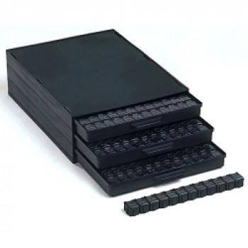 Licefa ESD SMD-Schrank A1-4ESD144 schwarz