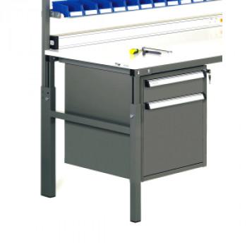 Treston Schubladenblock ML 05 mit 2 Schubladen