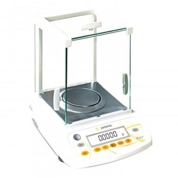 Sartorius Analysenwaage M-Pact AX224, Ablesbarkeit 0,1mg / max. 220g