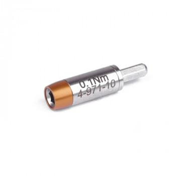 Bernstein Drehmoment-Adapter 4-971, für 4 mm Bits, 0,1 Nm