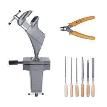 Bernstein Spanngerät Spannfix 9-205 + Werkzeugsatz, 3-tlg.