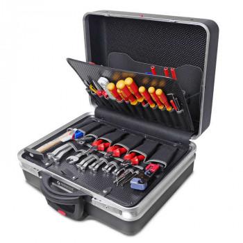 Bernstein Service-Koffer TELECOM 6600 R, rollbar, 115-tlg.