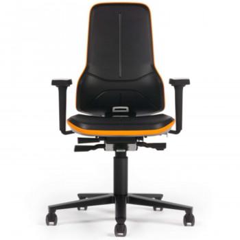 bimos ESD-Drehstuhl Neon 2 mit Rollen 9563E, Permanentkontakt (ohne Polster)