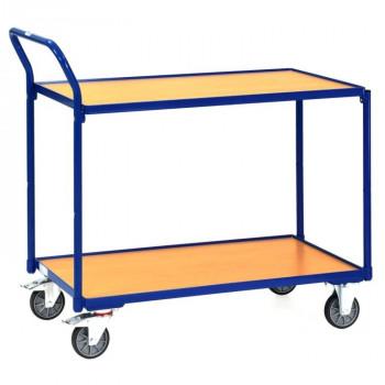 fetra Tischwagen 2740 mit 2 Böden, 850 x 500 mm, 300 kg