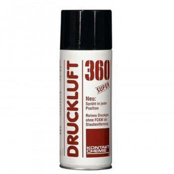Kontakt-Chemie Druckluft 360 Super Druckluftspray, 200 ml