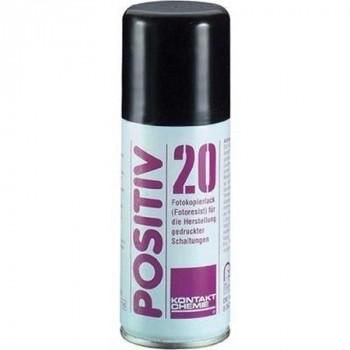 Kontakt-Chemie Positiv 20 Positiv-Flüssigresist, 100 ml