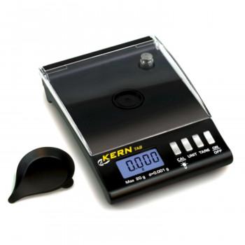 Kern Taschenkaratwaage TAB 20-3, Ablesbarkeit 0,005ct/0,001g / max. 100ct/20g
