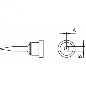 Weller Lötspitze LT 1SA, 0,5 mm, Rundform