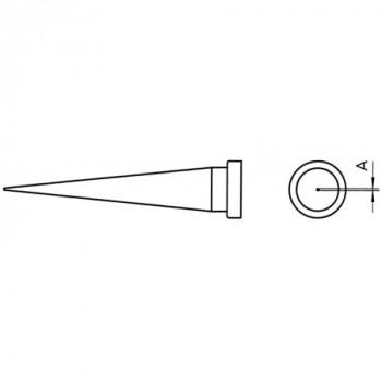 Weller Lötspitze LT 1L, 0,2 mm, konisch lang