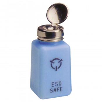 R&R Lotion ESD Solvent Dispenser SD6-ESD-PP mit Reinraum-Pumpe, 177 ml
