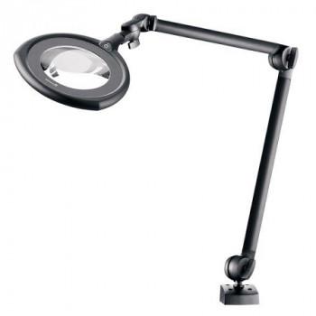 Waldmann ESD LED-Lupenleuchte TEVISIO RLLQ 48/2 AR, 3,5 dpt, 784 mm, schwarz, 14 Watt
