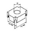 Weller CSF D  6,7x10,0 mm Heizstempel