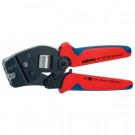 Knipex Crimpzange 97 53 08 mit Fronteinführung für Aderendhülsen 0,08-10 mm²