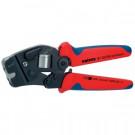 Knipex Crimpzange 97 53 09 mit Fronteinführung für Aderendhülsen 0,08-10 + 16 mm²