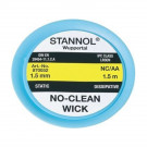 Stannol No-Clean Ablötlitze NC-AA, 1,5 mm, 1,5 m