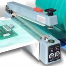 Folienschweißgerät mit Schneidmesser und Haltemagnet, 400 mm