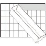 Raaco Einsatz BA8-3 für Carry-Lite 80/Boxxser 80, transparent