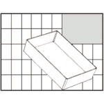 Raaco Einsatz BA6-1 für Carry-Lite 80/Boxxser 80, transparent