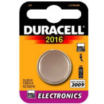 Duracell Lithium Knopfzelle 2016