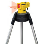 STABILA Kreuzlinien-Laser LAX 50 inkl. Stativ-Teleskopstangen-Kombination