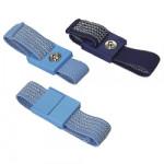 ESD-Handgelenkband mit 10 mm Druckknopf dunkelblau