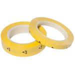 ESD PVC-Klebeband, gelb, 12,7 mm x 33 m