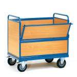fetra Holzkastenwagen 2872, 1000 x 700 mm, 500 kg