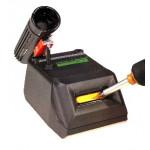 clean-o-point Lötspitzenreinigungsgerät 2981 mit Schalter antistatisch, schwarz, 230 V