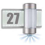 Steinel Sensor-Leuchte L 270 S, aluminium, max. 2 x 40 W