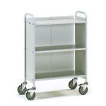 fetra Bürowagen 4871, 720 x 350 mm, lichtgrau/hellgrau, 150 kg