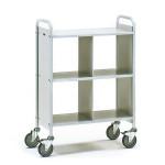 fetra Bürowagen 4872, 720 x 350 mm, lichtgrau/hellgrau, 150 kg
