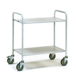 fetra Bürowagen 4880, 800 x 500 mm, lichtgrau/hellgrau, 150 kg