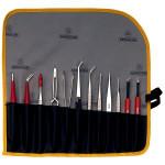 Bernstein Spezial-Pinzettensatz 5-100 mit Werkzeugen, 12-tlg.