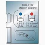 Elpress Pressbacke OAA0525 für isolierte Verbinder 0,5-2,5 mm²