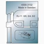 Elpress Pressbacke OMP11 für RJ11 Modular-Plug