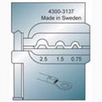 Elpress Pressbacke OKB0725 für unisolierte Verbinder 0,75-2,5 mm²