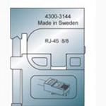 Elpress Pressbacke OMP45 für RJ45 Modular-Plug