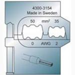 Elpress Pressbacke OEB3550 für Aderendülsen 35-50 mm²