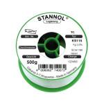 Stannol Lötdraht KS115 FLOWTIN TSC, Sn95,5Ag3,8Cu0,7+ML, 1,0 mm, 3,0%, 500 g