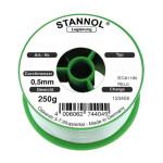 Stannol Lötdraht ECOLOY HS10 2500 TSC, Sn95,5Ag3,8Cu0,7, 0,8 mm, 2,5 %, 250 g
