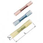 Elpress Stossverbinder isoliert A1535SKW 0,5-1,5 mm² rot m. Schrumpfisolierung (25 Stück)