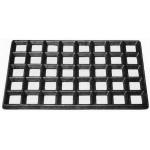 ESD Vollgummi-Gittermatte, 610 x 370 x 20 mm