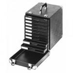 Licefa ESD-Schubladenkoffer mit Aufbauschrank A1-4 9-fach schwarz