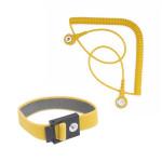 Bernstein ESD-Kontaktarmband mit Spiralkabel 9-341